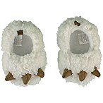 Sleepy Time Size 0-6M Critter Slipper in Ivory