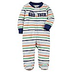 carter's® Size 3M Little Brother Sleep & Play Footie