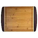 Totally Bamboo® Java 12-Inch x 18-Inch Java Cutting/Serving Board