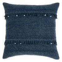 Villa Home Dirade Square Throw Pillow in Indigo