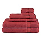 Avanti 6-Piece Splendor Towel Set in Burgundy