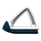 Unger® 2-in-1 Grout & Corner Scrubber in White/Blue