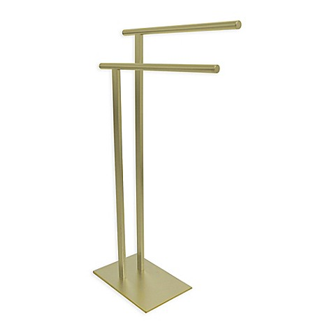 image of Kingston Brass Freestanding Towel Holder
