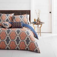 Azalea Skye® Rhea Reversible Full/Queen Duvet Cover Set in Orange