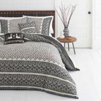 Azalea Skye® Greca Borders Reversible Full/Queen Duvet Cover Set in Beige