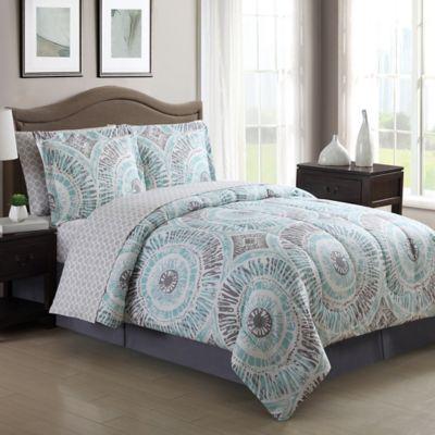 Buy Aqua Bed Comforter Sets Queen from Bed Bath & Beyond