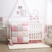 The Peanutshell™ Woodland Whimsy 4-Piece Crib Bedding Set