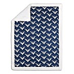 The Peanut Shell® Woodland Trails Blanket in Navy