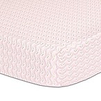 The Peanut Shell® Floral Whisper Fitted Crib Sheet