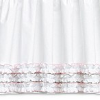 Wendy Bellissimo™ Mix & Match Savannah Crib Skirt in White