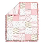 The Peanut Shell® Sweet Swan Patchwork Quilt