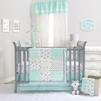 The Peanutshell ™ Southwest Dreams 4-Piece Crib Bedding Set in Mint