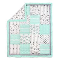 The Peanutshell ™ Southwest Dreams Patchwork Quilt in Mint