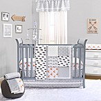 The Peanut Shell® Woodland 4-Piece Crib Bedding Set in Grey
