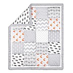 The Peanut Shell® Woodland Patchwork Quilt in Grey