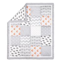 The Peanutshell ™ Woodland Patchwork Quilt in Grey