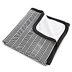 Oilo Studio™ Black and White Cuddle Blanket