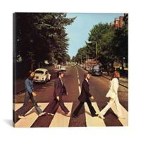 iCanvas Abbey Road 18-Inch Square Canvas Wall Art