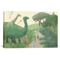 iCanvas Summer Park 12-Inch x 18-Inch Canvas Wall Art