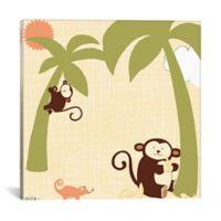 iCanvas Baby Jungle II 37-Inch Square Canvas Wall Art