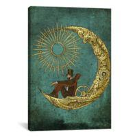 iCanvas Moon Travel 26-Inch x 40-Inch Canvas Wall Art