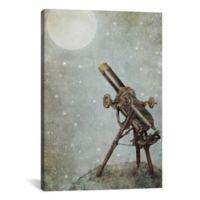 iCanvas Moonrise 12-Inch x 18-Inch Canvas Wall Art