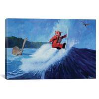 iCanvas Joe Surfer 12-Inch x 18-Inch Canvas Wall Art