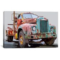 iCanvas Truck I 18-Inch x 26-Inch Canvas Wall Art