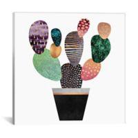 iCanvas Pretty Cactus 18-Inch Square Canvas Wall Art