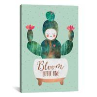 iCanvas Bloom Little One 18-Inch x 12-Inch Canvas Wall Art
