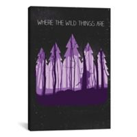 "iCanvas ""Where the Wild Things Are"" -Inch x -Inch Canvas Wall Art"