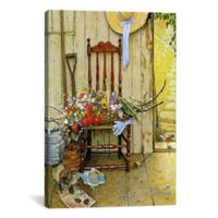 iCanvas Spring Flowers 12-Inch x 18-Inch Canvas Wall Art