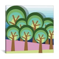 iCanvas Forest 37-Inch Square Canvas Wall Art
