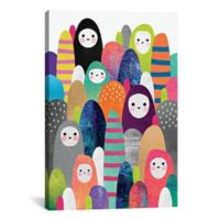 iCanvas Pebble Spirits 12-Inch x 18-Inch Canvas Wall Art