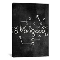 iCanvas Strong Side Flank 12-Inch x 18-Inch Canvas Wall Art