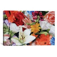 iCanvas Max's Flowers 26-Inch x 40-Inch Canvas Wall Art