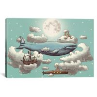iCanvas Ocean Meets Sky ll 12-Inch x 18-Inch Canvas Wall Art