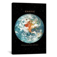 iCanvas Earth II 40-Inch x 26-Inch Canvas Wall Art
