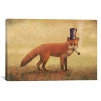 iCanvas Crazy Like a Fox 26-Inch x 40-Inch Canvas Wall Art