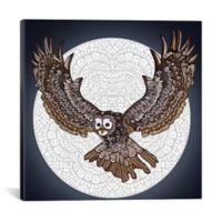 iCanvas Full Moon 37-Inch Square Canvas Wall Art