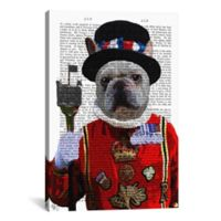 iCanvas Bulldog Beefeater 26-Inch x 18-Inch Canvas Wall Art