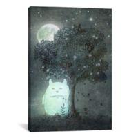 iCanvas Full Moon Spirit 26-Inch x 40-Inch Canvas Wall Art