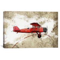 iCanvas Biplane III 26-Inch x 40-Inch Canvas Wall Art