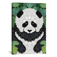 iCanvas Little Panda 18-Inch x 26-Inch Canvas Wall Art