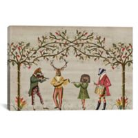 iCanvas Minstrel Group 12-Inch x 18-Inch Canvas Wall Art