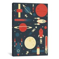 iCanvas Space Odyssey 18-Inch x 12-Inch Canvas Wall Art