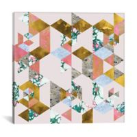 iCanvas Geometry of Love 37-Inch Square Canvas Wall Art