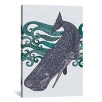 iCanvas Deep Violet 40-Inch x 26-Inch Canvas Wall Art