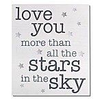 "Wendy Bellissimo™ ""We Love You More"" Wood Wall Art"