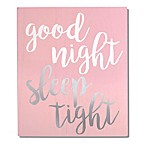 "Wendy Bellissimo™ ""Good Night, Sleep Tight"" Wood Wall Art"